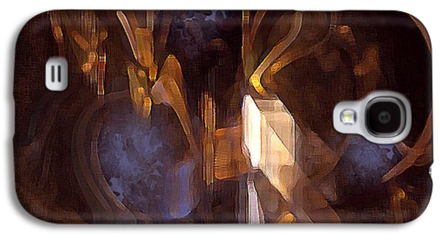 Digital Galaxy S4 Case featuring the digital art Quest by Ann Tracy