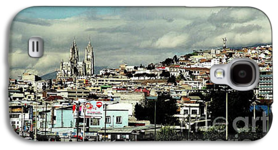 Ecuador Galaxy S4 Case featuring the photograph Quito by Kathy McClure
