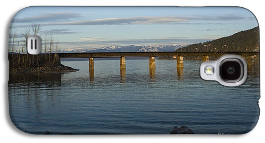 Bridge Galaxy S4 Case featuring the photograph Railroad Bridge Over The Pend Oreille by Idaho Scenic Images Linda Lantzy