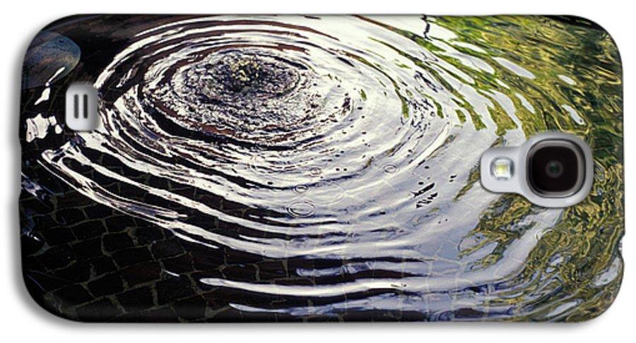 Rain Galaxy S4 Case featuring the photograph Rain Barrel by Carl Purcell