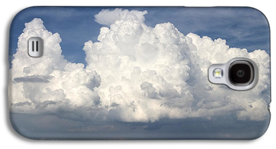Clouds Galaxy S4 Case featuring the photograph Rain Clouds Over Lake Apopka by Carl Purcell
