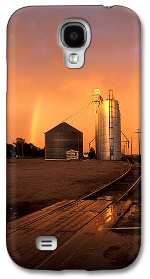 Potter Galaxy S4 Case featuring the photograph Rainbow In Potter by Jerry McElroy