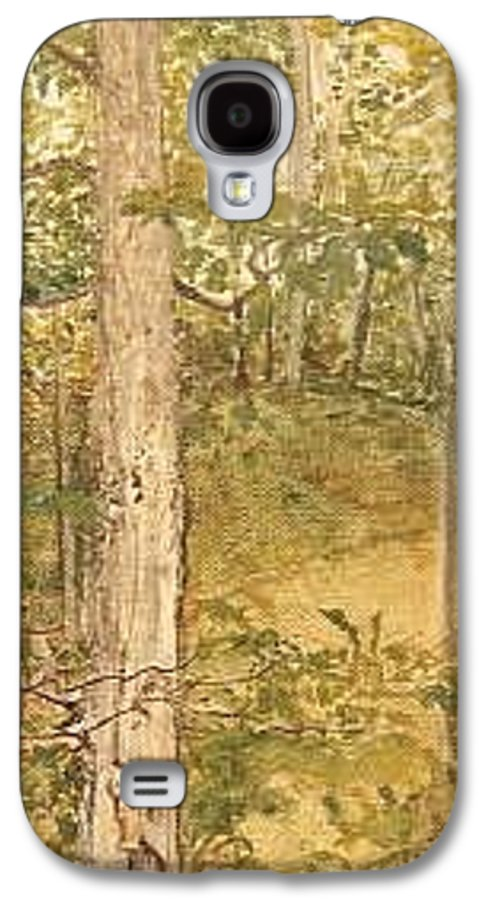 Trees Galaxy S4 Case featuring the painting Raystown Lake by Leah Tomaino