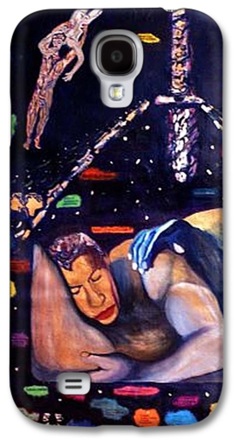 Nudes Galaxy S4 Case featuring the painting Realities Which Will Be Artifacts by Stephen Mead