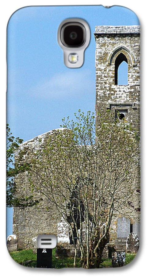 Fuerty Galaxy S4 Case featuring the photograph Rear View Fuerty Church And Cemetery Roscommon Ireland by Teresa Mucha