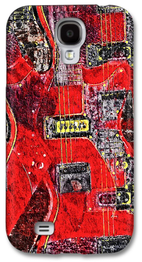 Guild Galaxy S4 Case featuring the photograph Red Devil by Bill Cannon