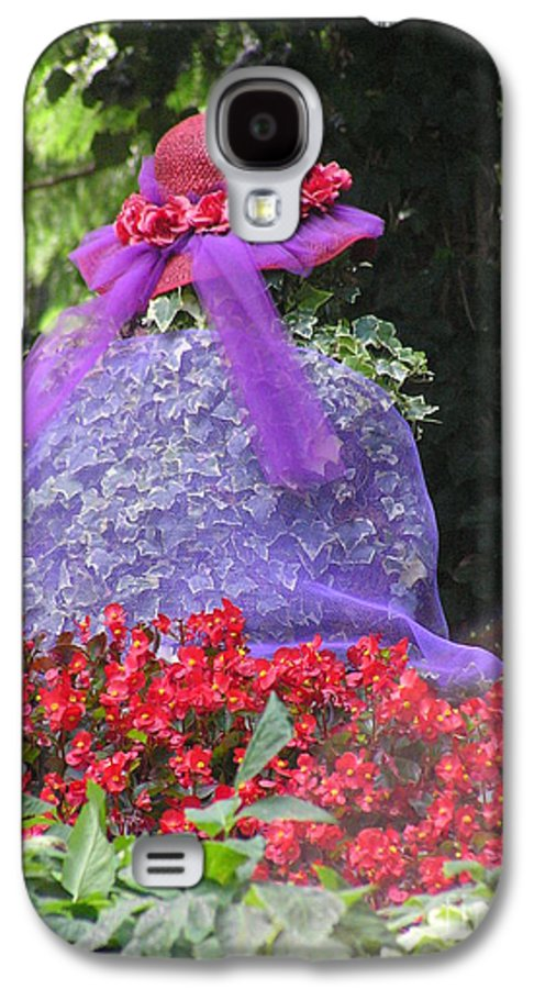 Red Hat Galaxy S4 Case featuring the photograph Red Hat Veil by Louise Magno