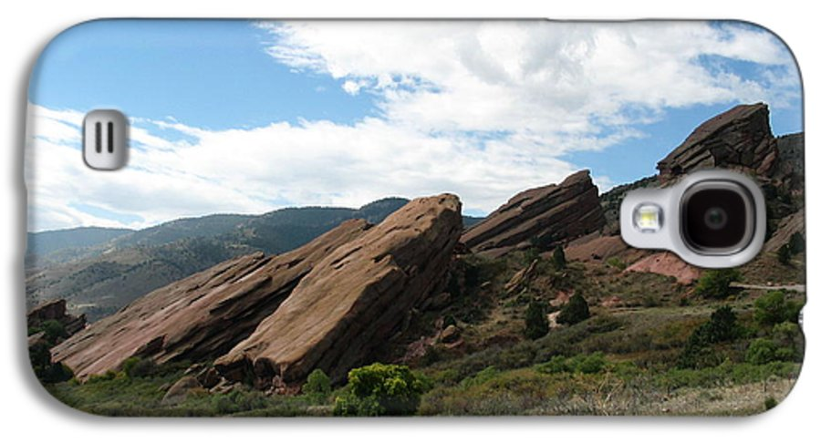 Red Rocks Galaxy S4 Case featuring the photograph Red Rocks Denver by Margaret Fortunato