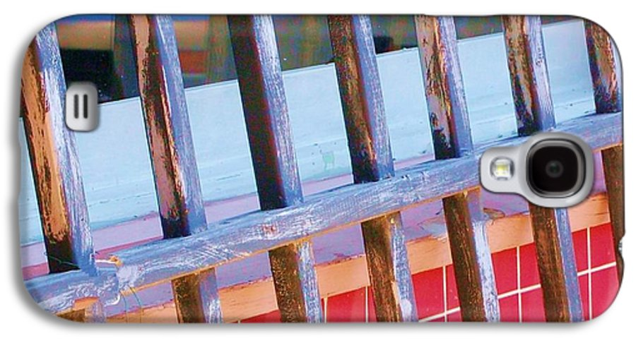 Gate Galaxy S4 Case featuring the photograph Reflections by Debbi Granruth