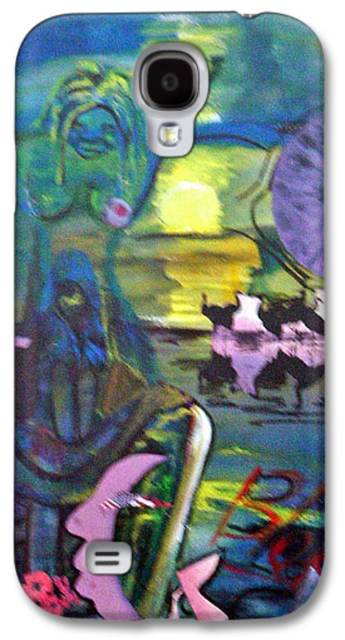 Water Galaxy S4 Case featuring the painting Remembering 9-11 by Peggy Blood