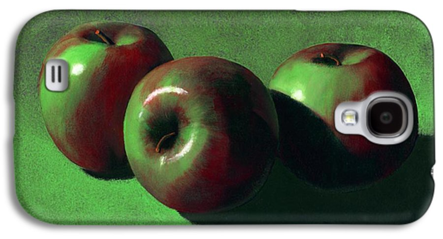 Still Life Galaxy S4 Case featuring the painting Ripe Apples by Frank Wilson