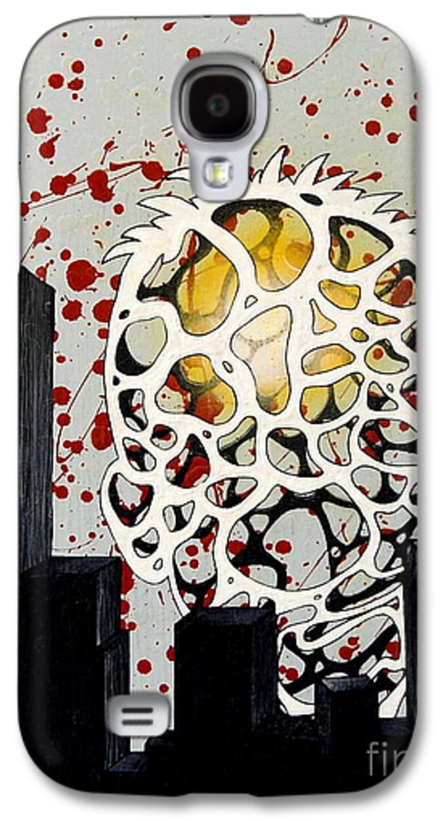 Energy Galaxy S4 Case featuring the painting Rise by A 2 H D