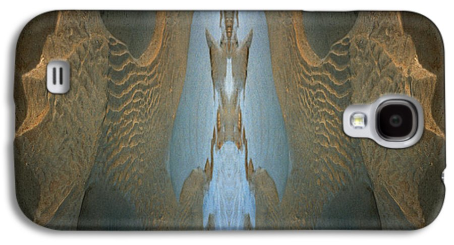 Rocks Galaxy S4 Case featuring the photograph Rock Gods Seabird Of Old Orchard by Nancy Griswold