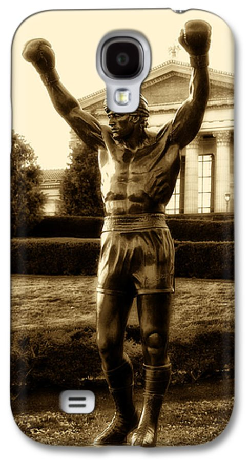 Sports Galaxy S4 Case featuring the photograph Rocky - Heart Of A Champion by Bill Cannon