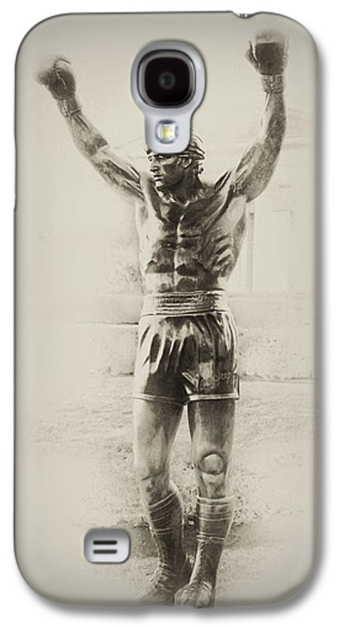Rocky Balboa Galaxy S4 Case featuring the photograph Rocky by Bill Cannon