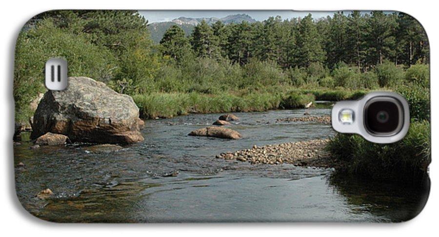 Nature Galaxy S4 Case featuring the photograph Rocky Mountain Stream by Kathy Schumann