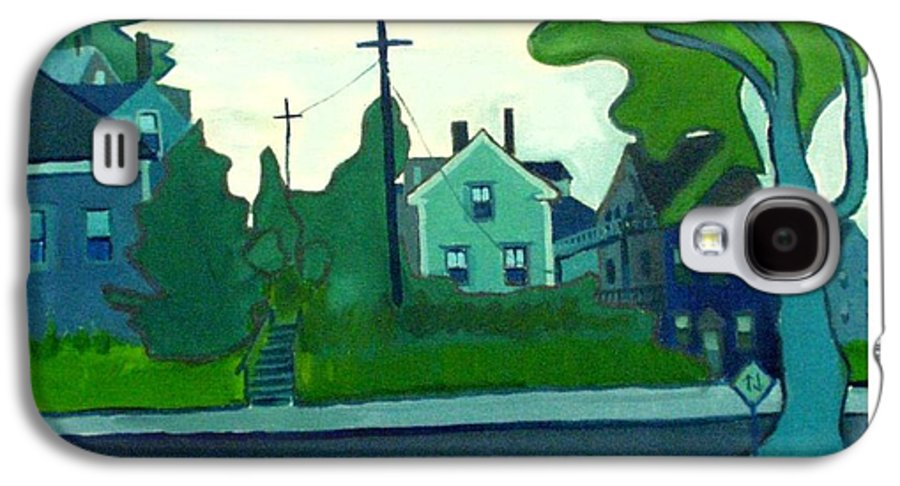 Landscape Galaxy S4 Case featuring the painting Rocky Neck Art Colony East Gloucester Ma by Debra Bretton Robinson
