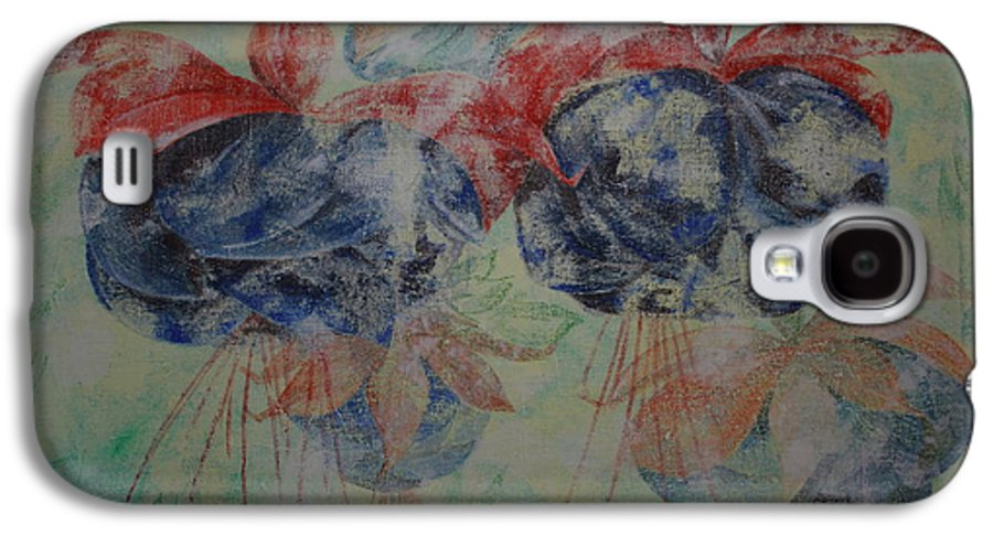Flowers Galaxy S4 Case featuring the painting Romance 3 by Harri Spietz