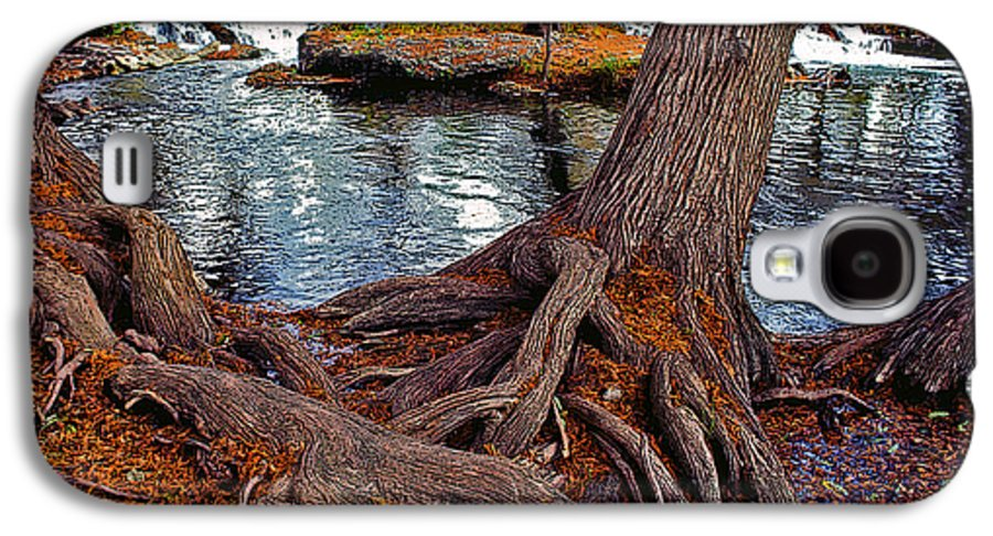 Roots Galaxy S4 Case featuring the painting Roots On The River by Stephen Anderson