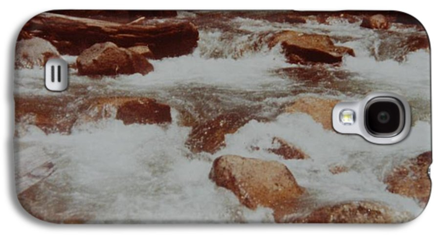 Water Galaxy S4 Case featuring the photograph Rushing Water by Rob Hans