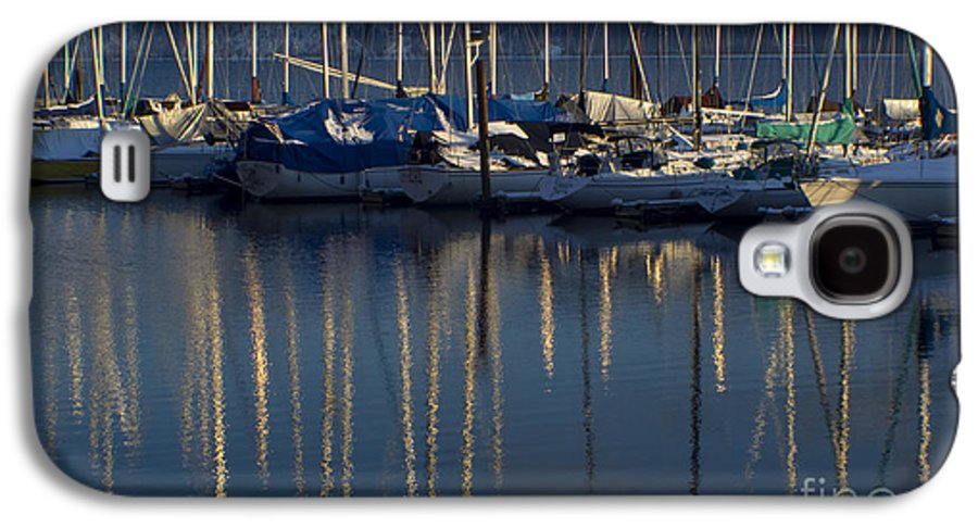 Mast Galaxy S4 Case featuring the photograph Sailboat Reflections by Idaho Scenic Images Linda Lantzy