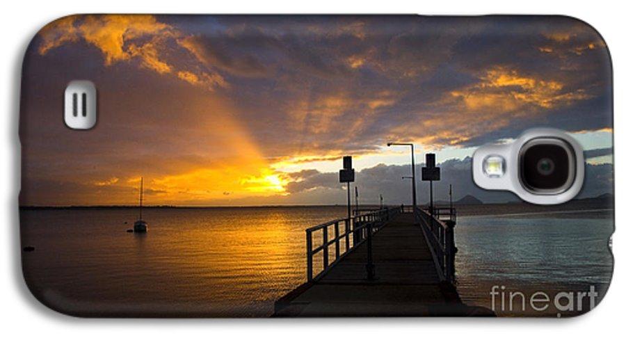 Sunrise Galaxy S4 Case featuring the photograph Salamander Bay Sunrise by Sheila Smart Fine Art Photography