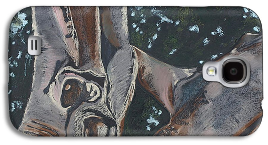 Contemporary Tree Galaxy S4 Case featuring the drawing San Diego Zoo by Leah Tomaino