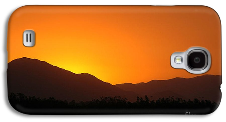 Sunset Galaxy S4 Case featuring the photograph San Jacinto Dusk Near Palm Springs by Michael Ziegler