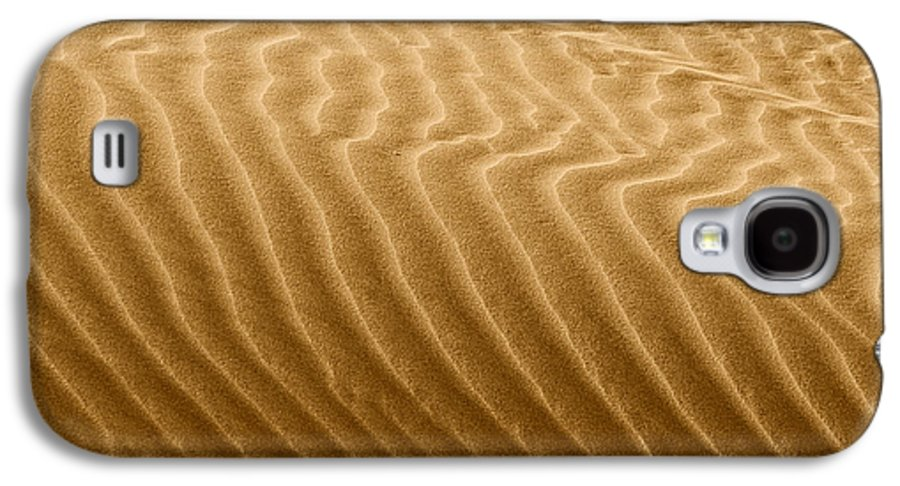Sand Galaxy S4 Case featuring the photograph Sand Dune Mojave Desert California by Christine Till