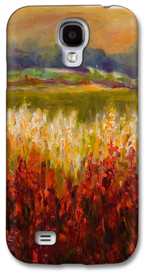 Landscape Galaxy S4 Case featuring the painting Santa Rosa Valley by Shannon Grissom