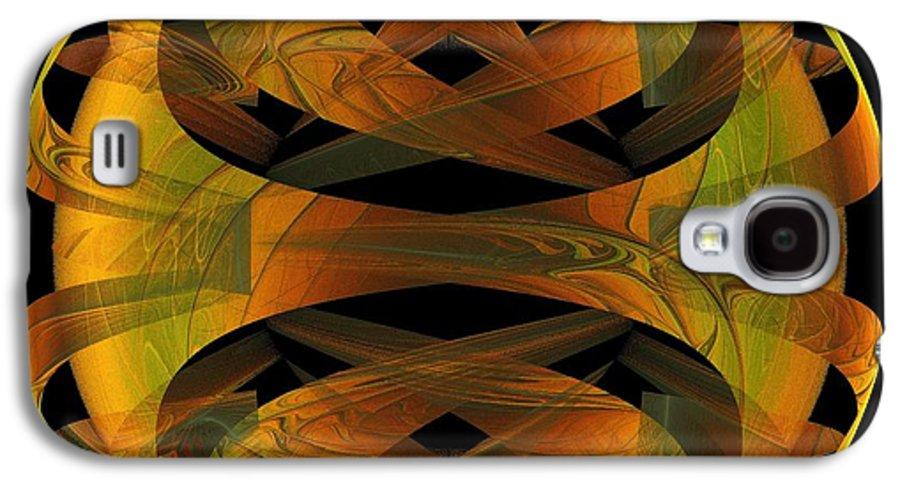 Digital Art Galaxy S4 Case featuring the digital art Scarab by Amanda Moore