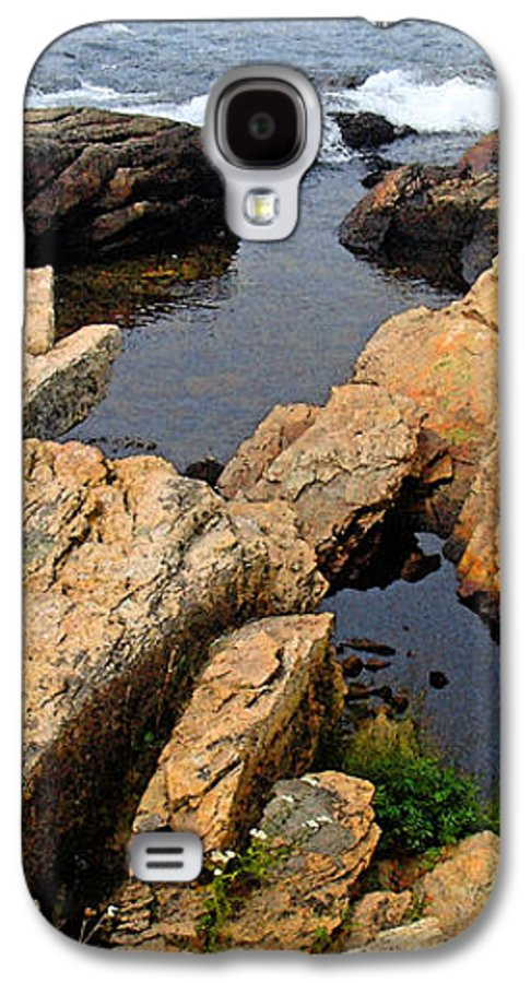 Landscape Galaxy S4 Case featuring the photograph Scoodic Tidepool by Peter Muzyka