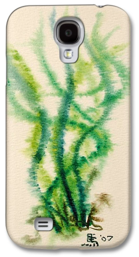 Sea Galaxy S4 Case featuring the painting Sea Bed One by Dave Martsolf
