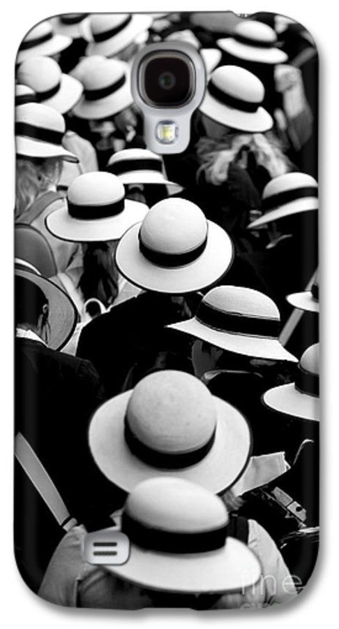 Hats Schoolgirls Galaxy S4 Case featuring the photograph Sea Of Hats by Sheila Smart Fine Art Photography