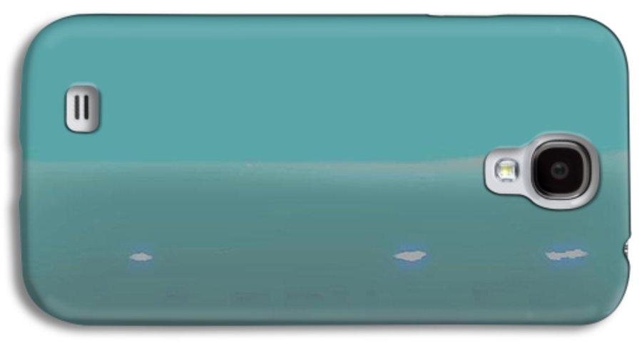 Night.no Moon.sky.sea.waves.coast. Sea Surf .foam Waves. Galaxy S4 Case featuring the digital art Sea.night.no Moon. by Dr Loifer Vladimir