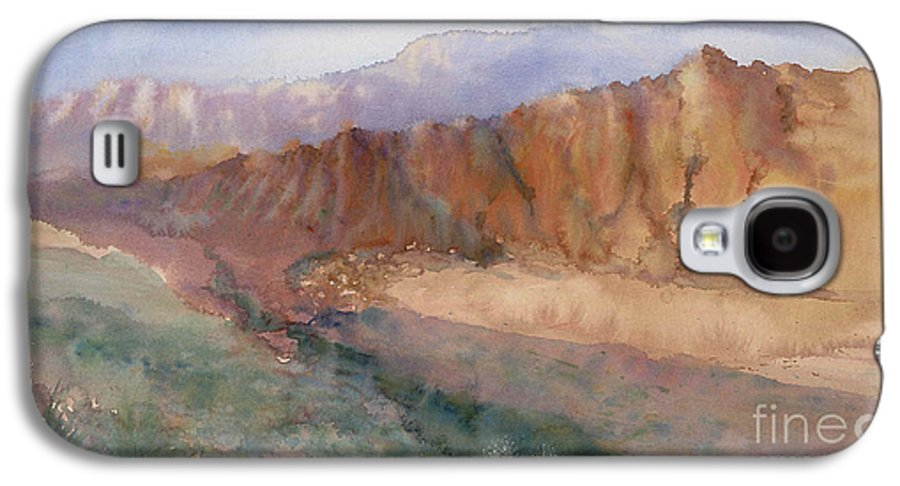 Sedopn Galaxy S4 Case featuring the painting Sedona by Ann Cockerill