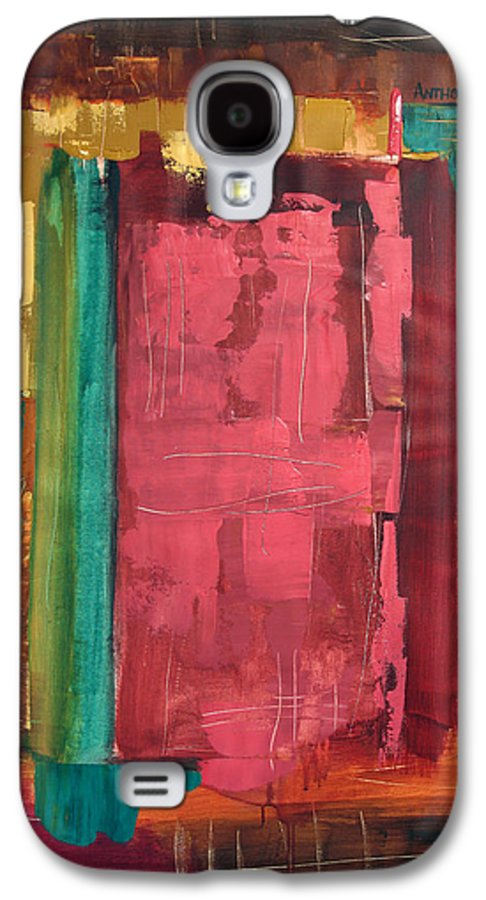 Seek And You Shall Find Galaxy S4 Case featuring the painting Seek And You Shall Find by Anthony Falbo