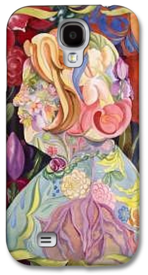 Portrait Galaxy S4 Case featuring the painting Self Portrait by Marlene Gremillion