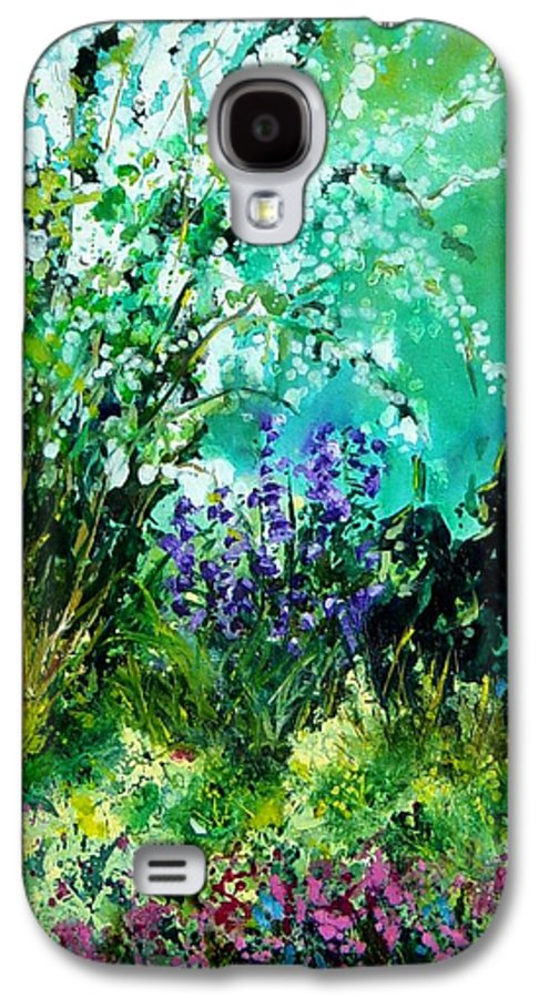 Tree Galaxy S4 Case featuring the painting Seringa by Pol Ledent