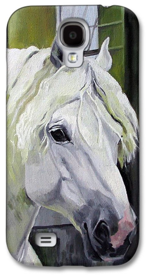 Horse Galaxy S4 Case featuring the painting Shadowfax by Nel Kwiatkowska