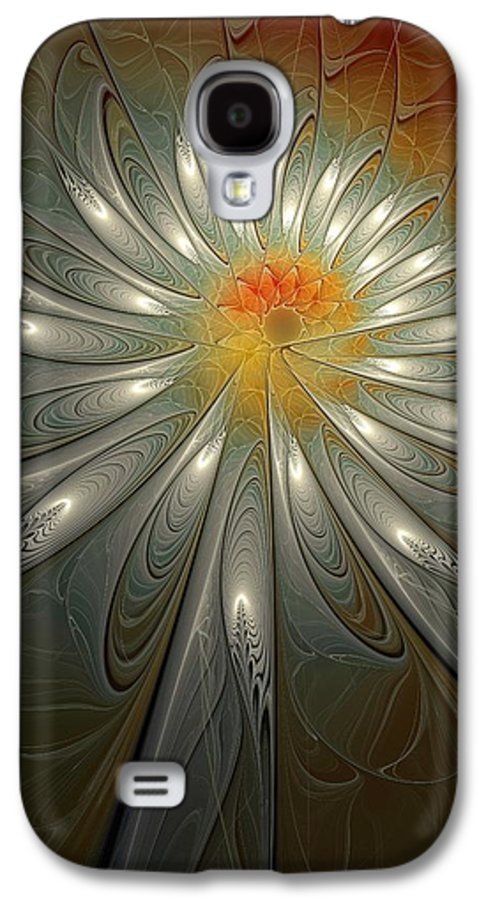 Digital Art Galaxy S4 Case featuring the digital art Shimmer by Amanda Moore