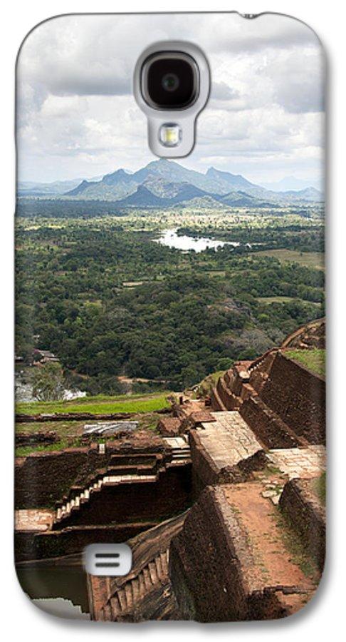 Ancient Galaxy S4 Case featuring the photograph Sigiriya Ruins by Jane Rix