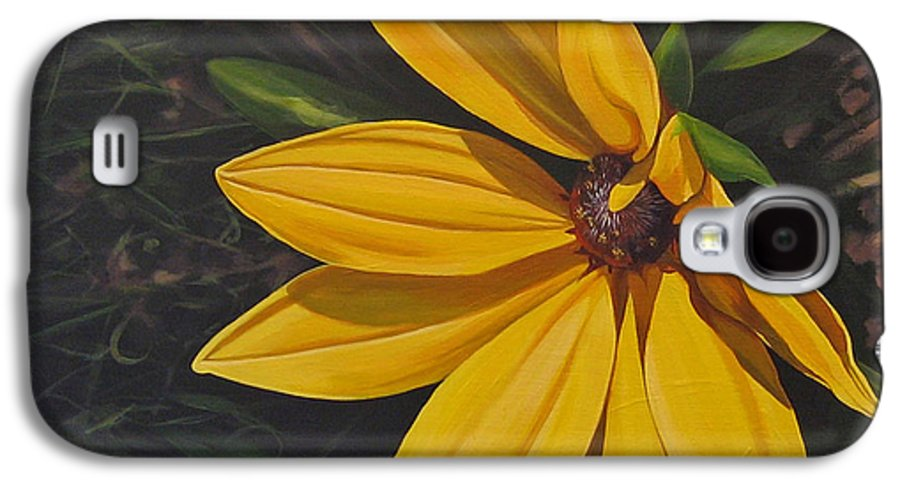 Wildflower Galaxy S4 Case featuring the painting Sign Of Summer by Hunter Jay