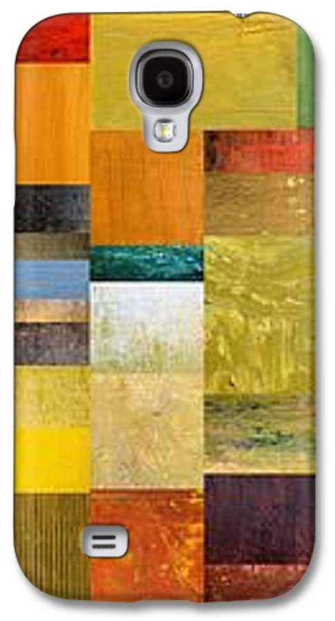 Skinny Galaxy S4 Case featuring the painting Skinny Color Study L by Michelle Calkins