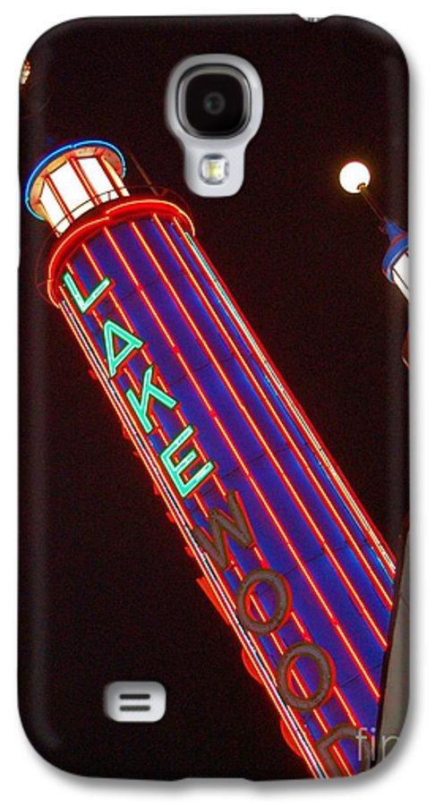 Neon Galaxy S4 Case featuring the photograph Sky Lights by Debbi Granruth