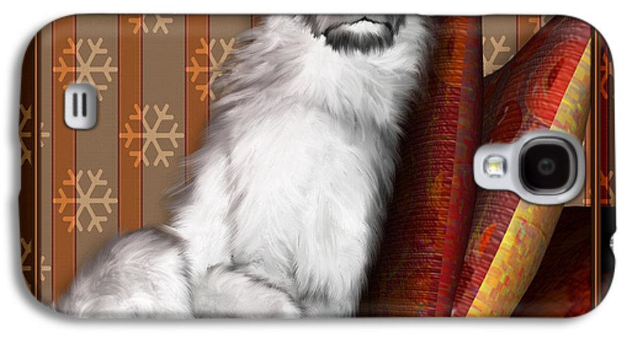 Dog Galaxy S4 Case featuring the digital art Sleeping Iv by Nik Helbig