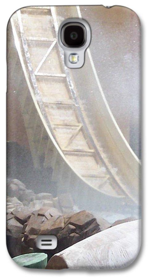 Slide Galaxy S4 Case featuring the photograph Slide Splash by Pharris Art