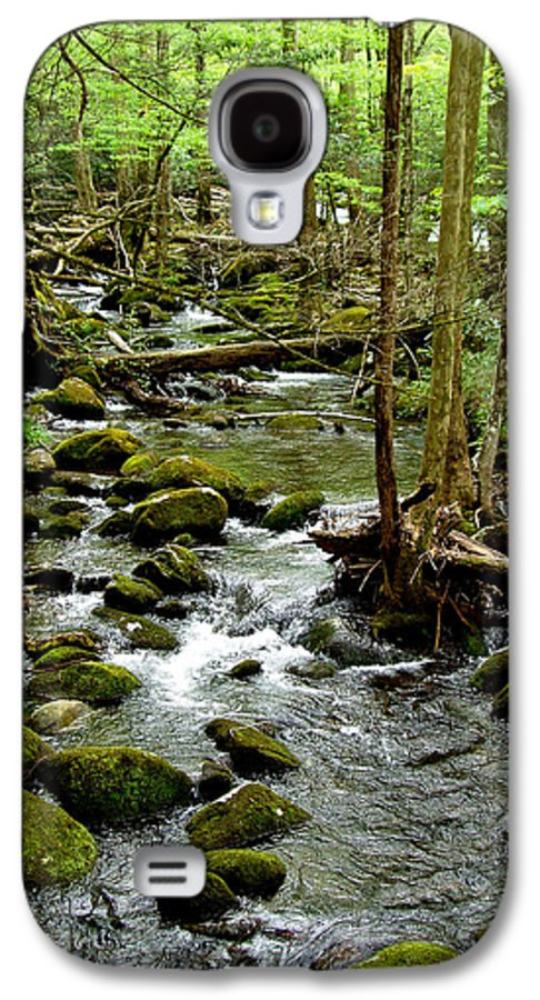 River Galaxy S4 Case featuring the photograph Smoky Mountain Stream 2 by Nancy Mueller