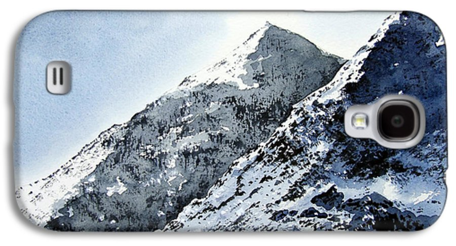 Snowdon Galaxy S4 Case featuring the painting Snowdon by Paul Dene Marlor