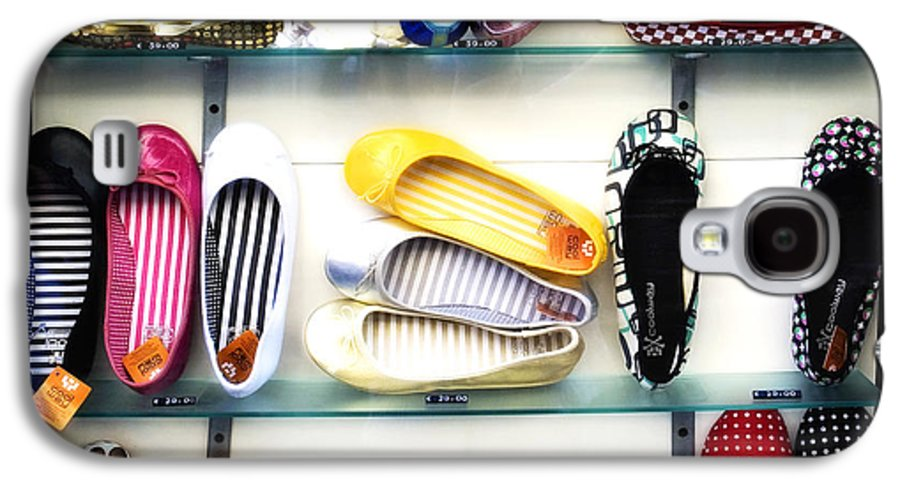 Shoes Galaxy S4 Case featuring the photograph So Many Shoes... by Marilyn Hunt
